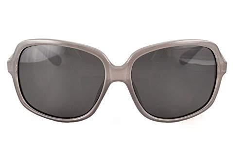 13Fifty Newport Wraparound Polarized Retro Unisex Sunglasses(Gray)