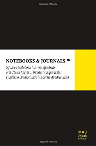 Download Notebooks & Journals, Pocket, Squared, Black, Soft Cover (4 x 6): (Classic Notebook, Journal, Sketchbook, Diary, Composition Notebook) PDF