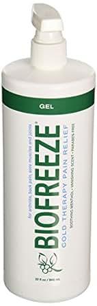 Biofreeze Pain Relief Gel, 32 Ounce Bottle with Pump, Original Green Formula, Pain Reliever