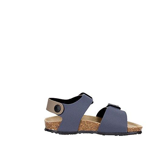 Grunland SB0410-40 Sandalias Boy Azul/ gris ceniciento