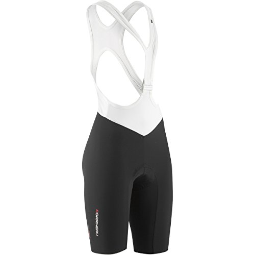 Louis Garneau Course Race 2 Bib Shorts - Women's Black/White, (Lazer Bib)