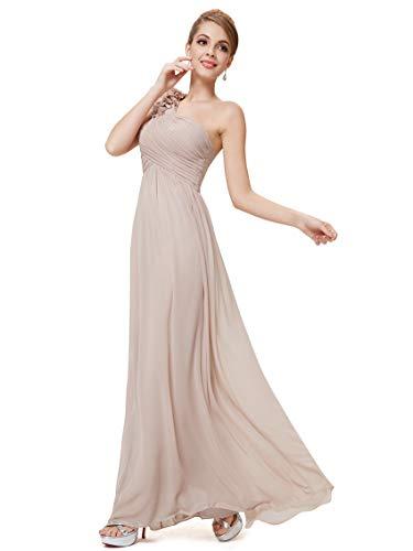 Longue Soirée Empire Taille Ever En De Champignon Seule Robe Femme Épaule pretty Fleurss 08237 wqwHTU