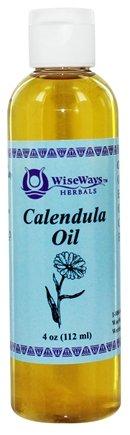Calendula Oil 4 Ounces by Wiseways