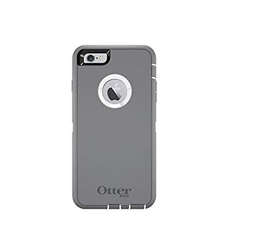 Rugged Protection OtterBox DEFENDER Case for iPhone 6 , 6s - Not for iPhone Plus Size (Gray) (Iphone Six Otterbox Defender Case)