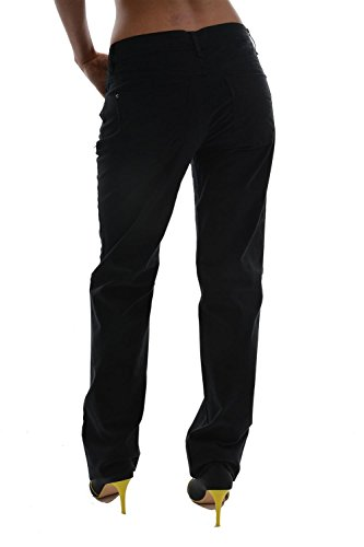 pantalons esprit casual 5 pocket pants women noir