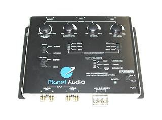 Electronic Crossover Planet Audio pcr3/ 3/ voies