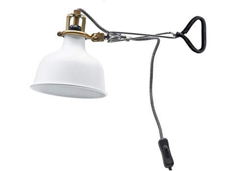 Ikea Clamp Wall Lamp Led (Bulb Included) Off-White Ranarp (Ikea Outdoor Lighting)