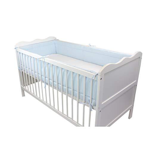 TupTam Baby Nestchen f/ür Babybett Gemustert f/ür Babybett 140x70 Gr/ö/ße: 420x30cm Farbe: Baby Tiere Grau//Gr/ün