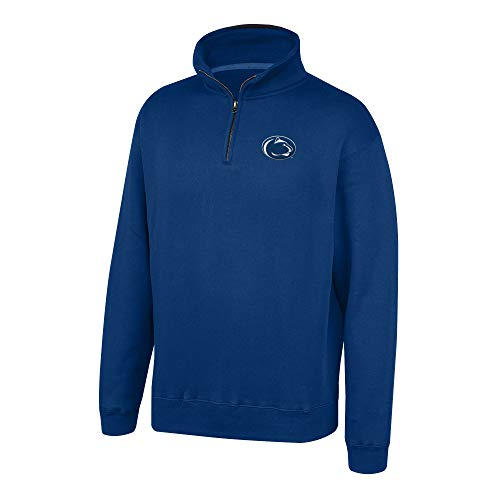 Top of the World NCAA Men's Penn State Nittany Lions Team Color Classic Quarter Zip Pullover Navy Small