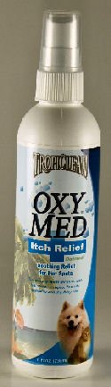 TROPICLEAN Oxy-Med Pet Dog Cat Medicated Rinse Itch Relief