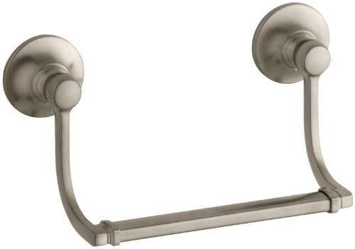Kohler K-11416-BV Bancroft Hand Towel Holder, Vibrant Brushed Bronze
