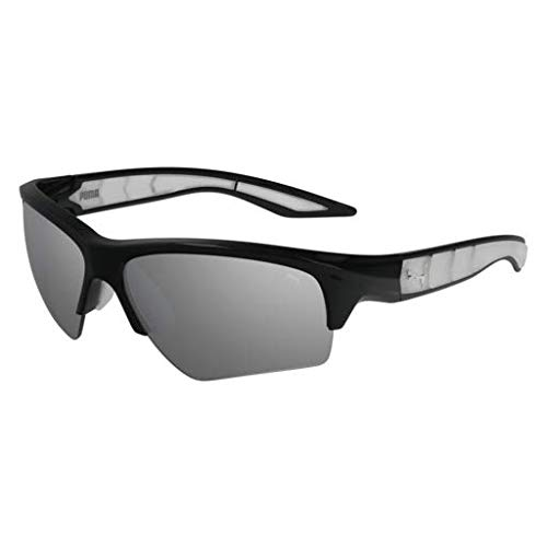 012 BLACK//SILVER Sunglasses Puma PU 0056 S