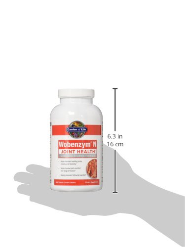Garden Of Life Joint Support Supplement Wobenzym N