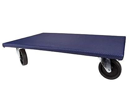 Toolland Plataforma Transporte Mover Muebles Carro Carga Carrito Ruedas 400 kg