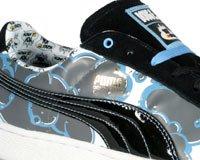 PUMA E Blue Suede Black Boy Fresh Doug Little White Black 44vHW5Rrx