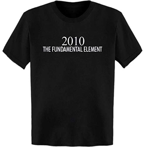 2010 The Fundamental Element Periodic Table T-Shirt Black