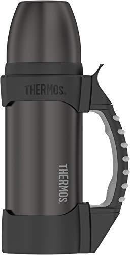 - Thermos 2510GM2 Work Series Stainless Water Bottle, 1.1 Quart, Gun Metal