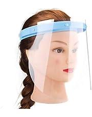 N/A Pantalla Completa CUJNI, a Prueba de Viento y antivaho, con 10 Tipos de sombrillas reemplazables, adecuadas para Ciclismo, Exteriores, Familia y Belleza.
