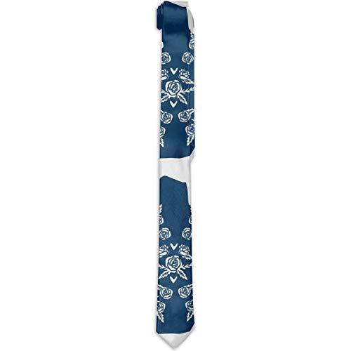 WONDERMAKE Costume Accessory Elegant German Shorthair Pointer Dog Premium Necktie Fashion Novelty Classic Silk Tie for Dinner Party Wedding - Perfect Mens Gift ()