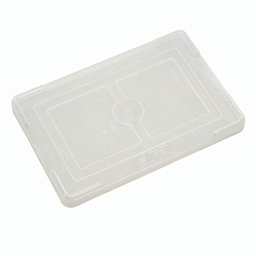 """Quantum Cover For Dividable Grid Clearview Containers - 22-1/2""""Lx17-1/2""""W - Lot of 3"""