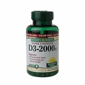 Nature's Bounty Super Strength D3-2000iu, 150 Softgels (Pack of 3) by Nature's Bounty