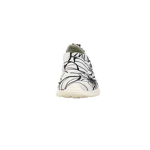 Womens Slip Fiore Shoes Black On White Chloe amp; Dude T5qOAwPxP