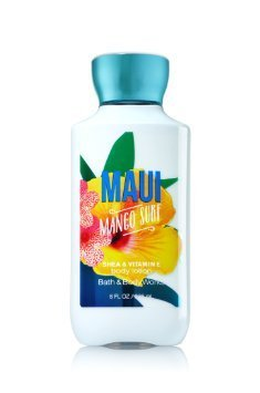 Mango Coconut Body Lotion - Bath & Body Works Maui Mango Surf Scented 8 Ounce Body Lotion