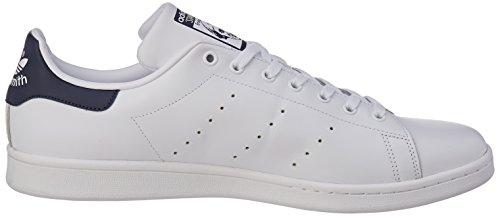 Adulto new running Adidas Deporte Unisex Blanco Navy Stan Zapatillas De White Smith Originals xwx0qUR4