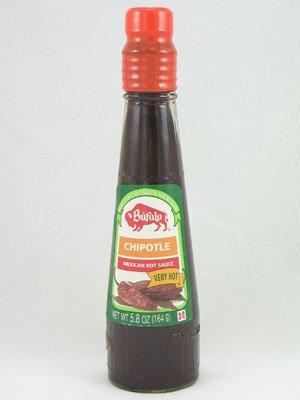 Bufalo Chipotle Hot Sauce, 5.8 oz (6 Pack)