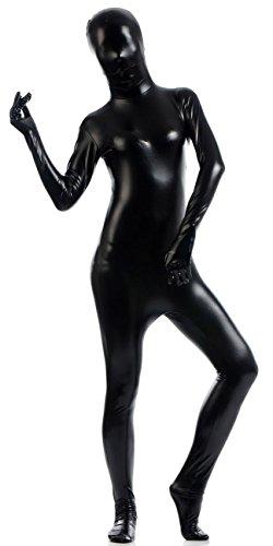 - 31XcarD8vPL - VSVO Women's Shiny Zentai Metallic Catsuit