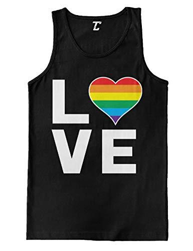 Love Rainbow Heart - Gay Pride LGBTQ Men
