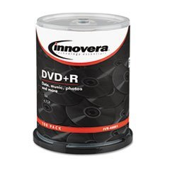 (3 Pack Value Bundle) IVR46891 DVD+R Discs, 4.7GB, 16x, Spindle, Silver, 100/Pack