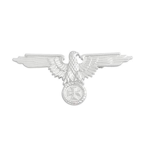 - SephSmith WWII Cold War Enamel pin Russian Flag German Tank Bombing Plane Battleship Eagle Badge Brooch Lapel pin Gift Military Enthusiast (Silver Eagle)