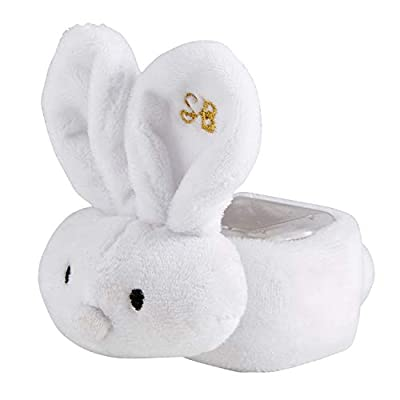 Stephan Baby Inspriational Boo-Bunnie Comfort Toy + Boo Cube, White : Baby