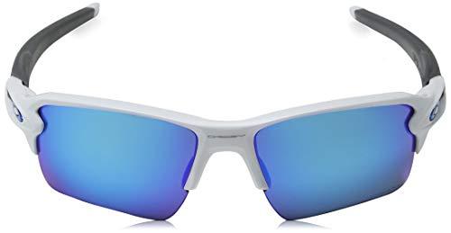 594d93d378 Oakley Men s Flak 2.0 XL Non-Polarized Iridium Rectangular Sunglasses