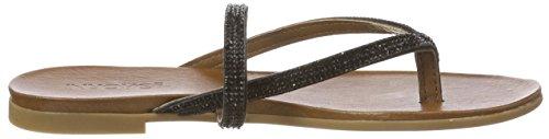 Inuovo Women's 8427 Flip Flops Black (Black 16781933) wiki online jExUVp