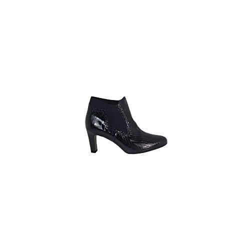 Skechers 11936 - Zapatillas de Otra Piel Mujer, Color Negro, Talla 37 1/3