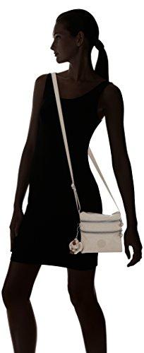 B bandolera Mujer Kipling Beige x Pastel Alvar x 5x18 2x18 Beige para H T S Bolsa cm qpgtXgzH