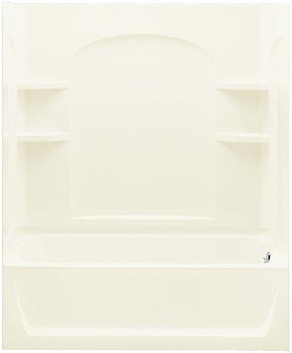 STERLING 71220128-96 Ensemble AFD Bath Tub and Shower Kit, 60-Inch x 32-Inch x 76-Inch, - Bathtub Afd