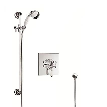 What Type Of Shower Valve Do I Have.Hudson Reed Traditional Dual Shower Valve With Slider Rail