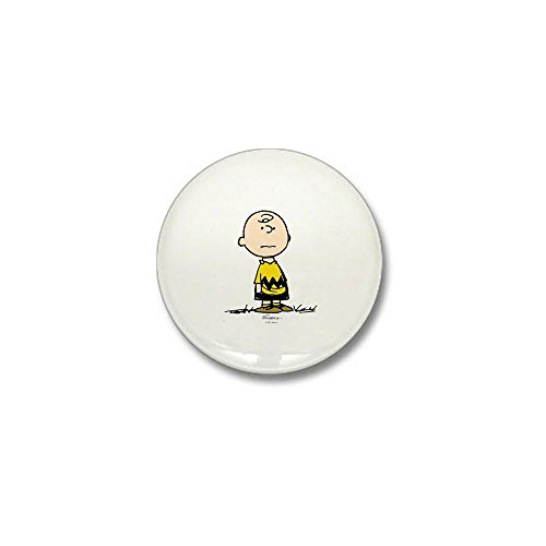 Button Mini Football - CafePress Charlie Brown 1