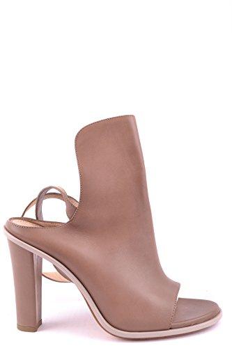 CUCINELLI Talons Marron Chaussures MCBI053054O Cuir Femme À BRUNELLO fw0qtdd