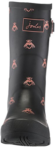 Joules Women's Mollywelly Rain Boot, Black Love Bees, 9 Medium US by Joules (Image #4)