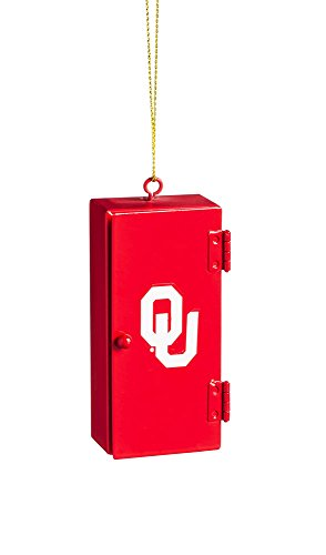 Team Sports America Oklahoma Sooners Team Locker Ornament