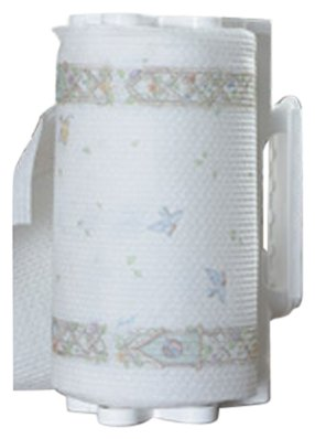 Camco  Pop-A-Towel- Mountable or Portable Paper Towel Holder Dispenser, Keep Paper Towels Clean, Conserve Space in Your RV Kitchen (White) (57111) (Furniture Pop)