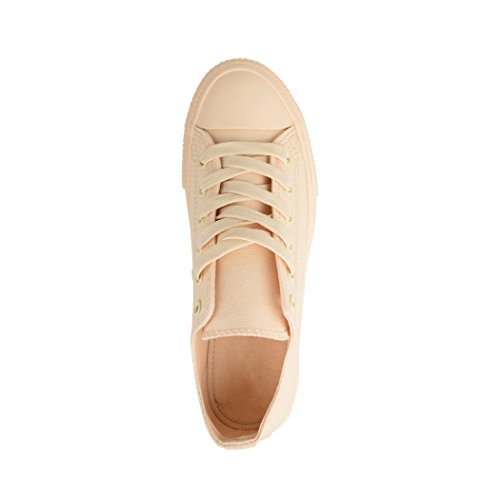 Colour Elara Femme One Beige Baskets Pour wrBqrXz