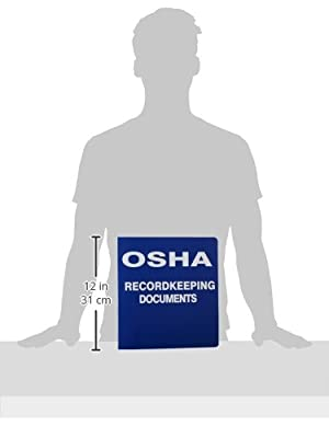 Brady OR323E Binder, OSHA Record Keeping Documents