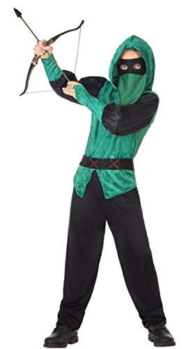 Fancy Me Disfraz de Robin Hood de Arquero Medieval, para niños y ...