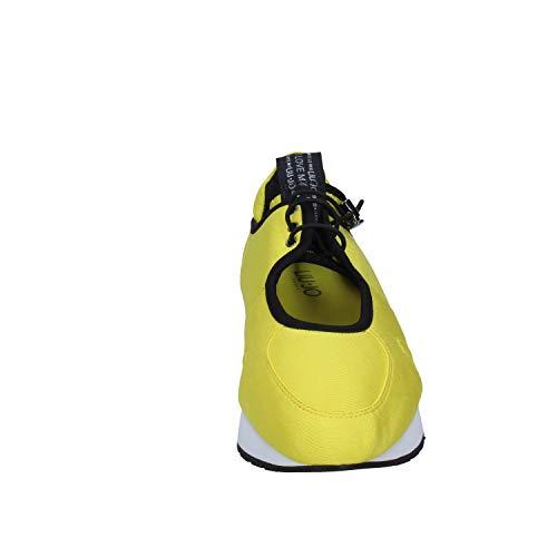 Liu Sneakers Femme Jo Jaune Textile YwYzFXxZ