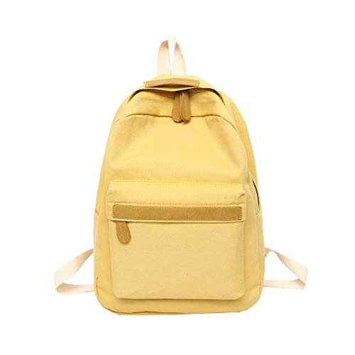 VHVCX Women Canvas Backpacks Ladies Shoulder School Bag ...